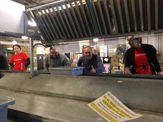 Volunteering at The Greater Boston Food Bank